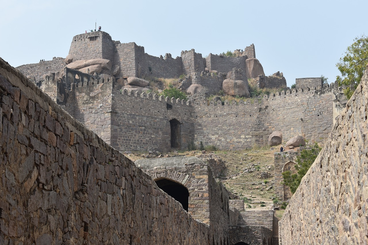 The Golconda Fort and Charminar